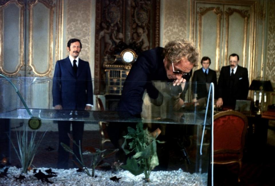 кадры из фильма Возвращение высокого блондина Жан Рошфор, Пьер Ришар,