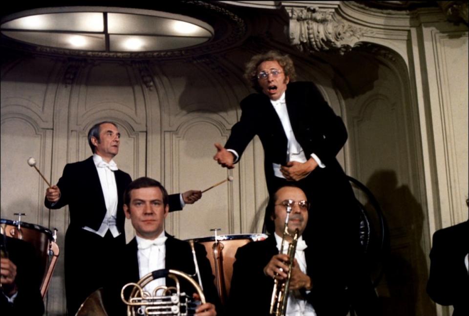 кадры из фильма Возвращение высокого блондина Пьер Ришар, Жан Карме,