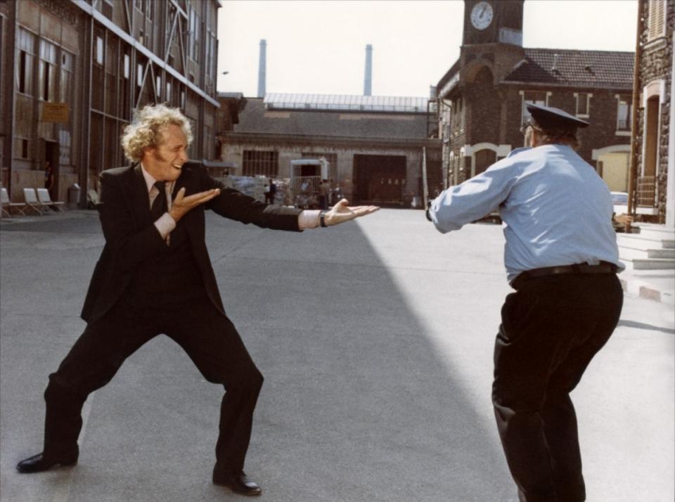 кадры из фильма Возвращение высокого блондина Пьер Ришар,