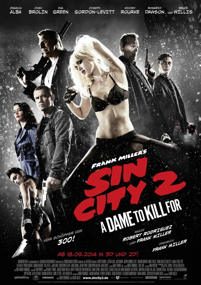 плакат фильма постер Город грехов 2