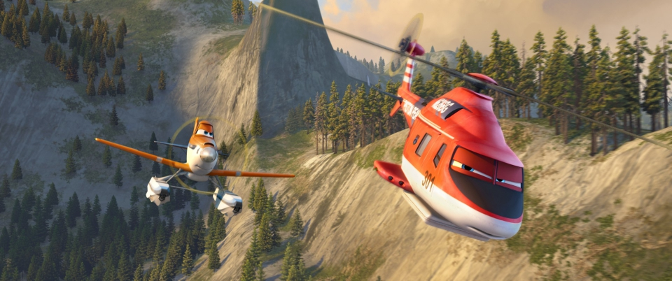 кадры из фильма Самолёты: Огонь и вода