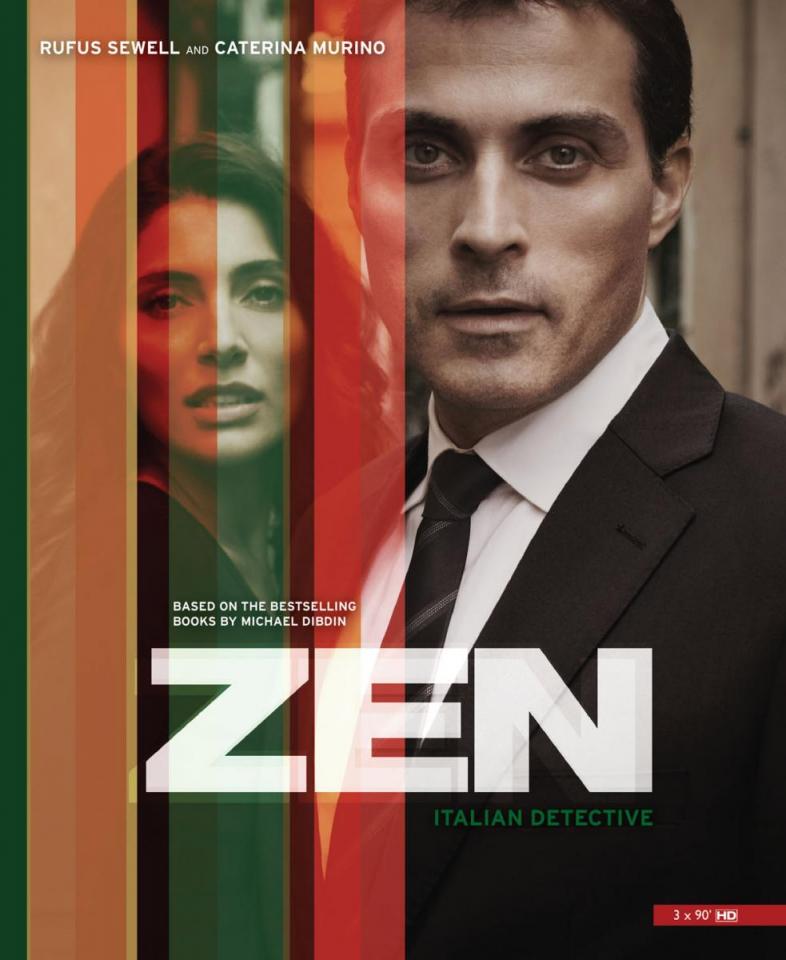 плакат фильма постер Детектив Дзен