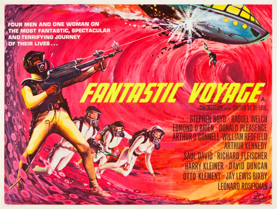 плакат фильма биллборды Фантастическое путешествие