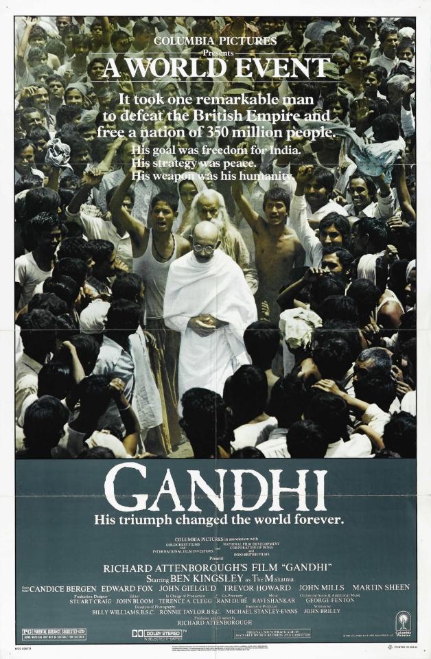 плакат фильма постер Ганди