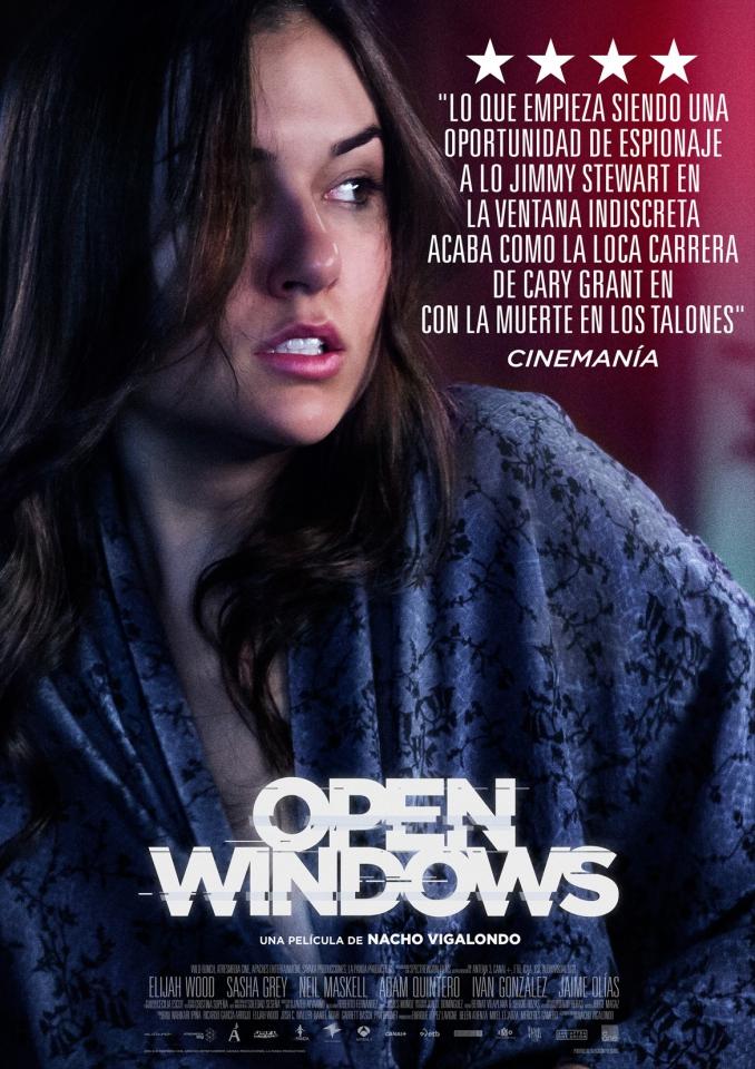 плакат фильма постер Открытые окна