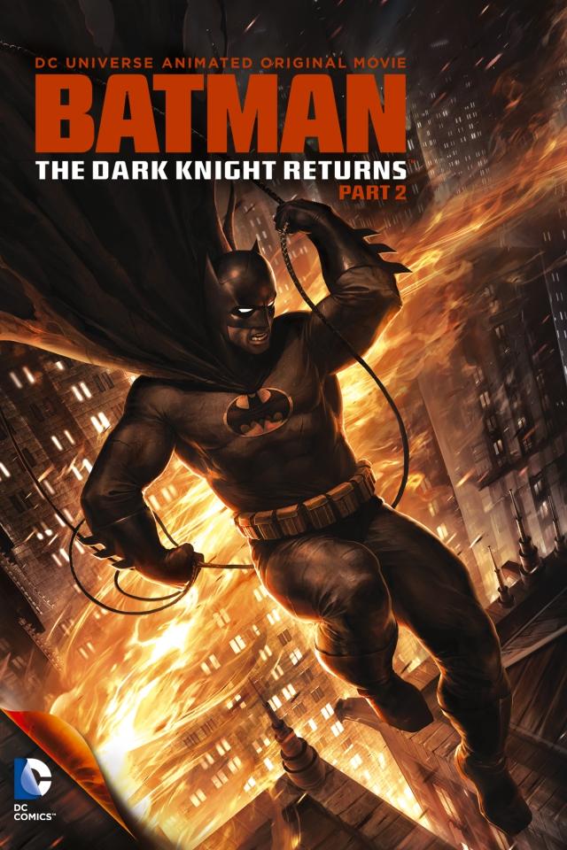 плакат фильма постер Темный рыцарь: Возрождение легенды. Часть 2
