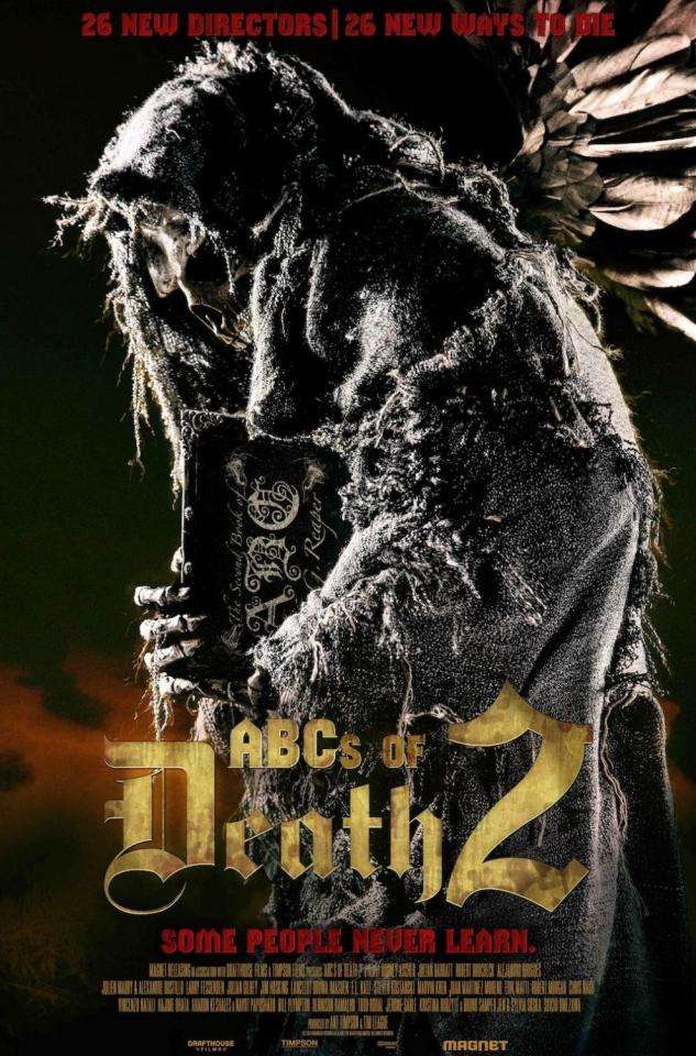 плакат фильма постер Азбука смерти 2*
