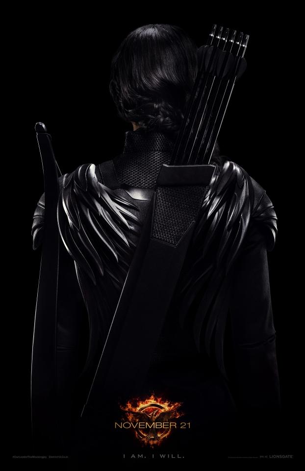 плакат фильма постер Голодные игры: Сойка-пересмешница. Часть 1