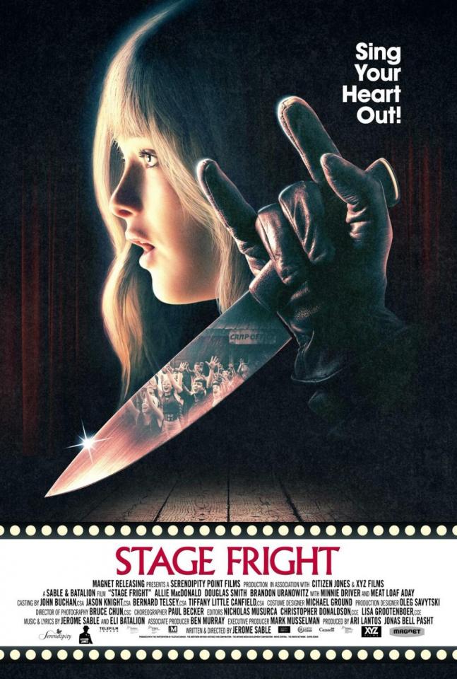 плакат фильма постер Страх сцены