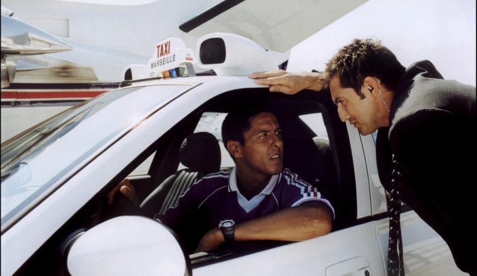 кадры из фильма Такси 2 Сами Насери,