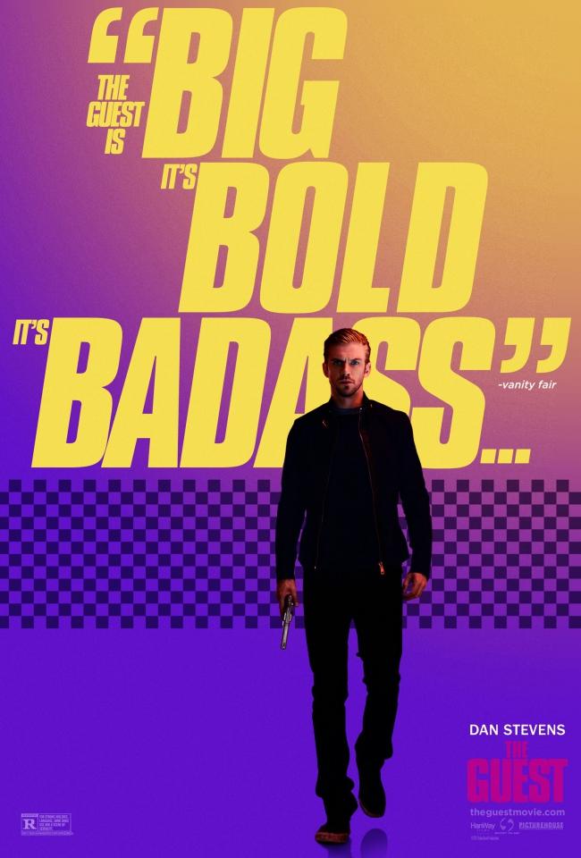 плакат фильма характер-постер Гость