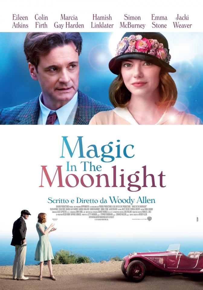 плакат фильма постер Магия лунного света