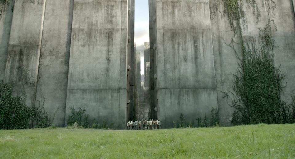 кадры из фильма Бегущий в лабиринте