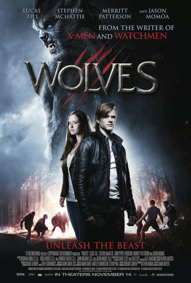 плакат фильма постер Волки