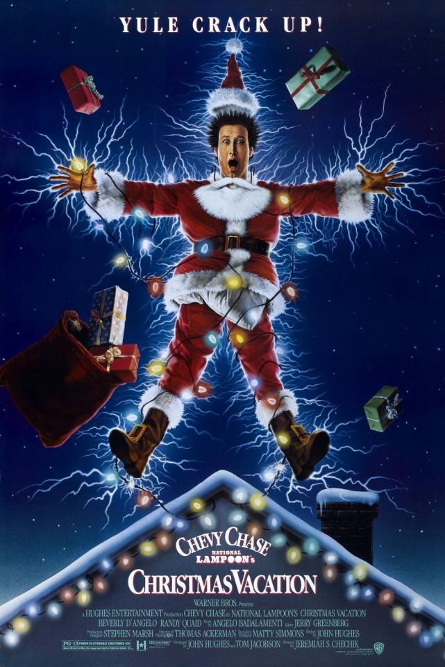 плакат фильма постер Рождественские каникулы