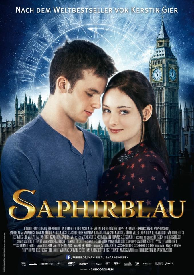 плакат фильма постер Таймлесс 2: Сапфировая книга