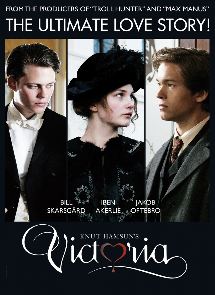 плакат фильма постер Виктория. История любви