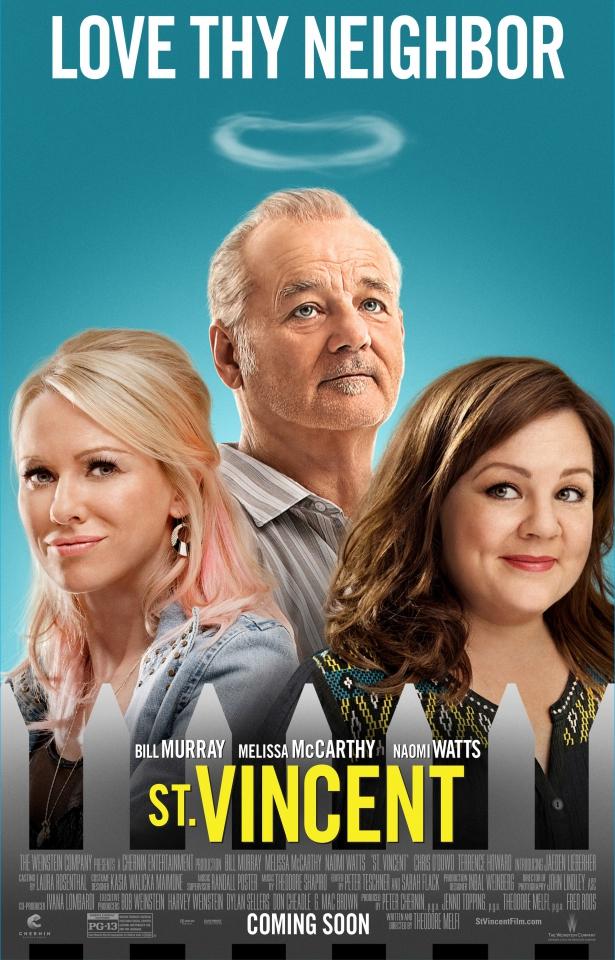 плакат фильма постер Святой Винcент из Ван-Найза*