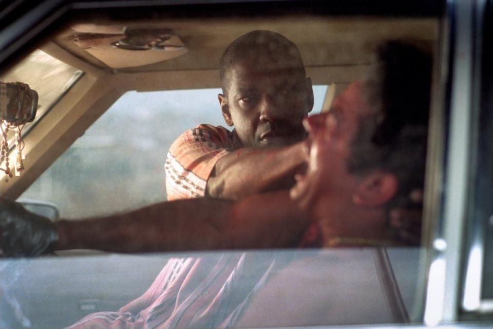 кадры из фильма Гнев Дензел Вашингтон,