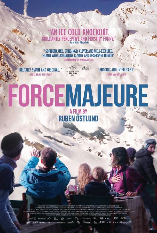 плакат фильма постер Форс-мажор