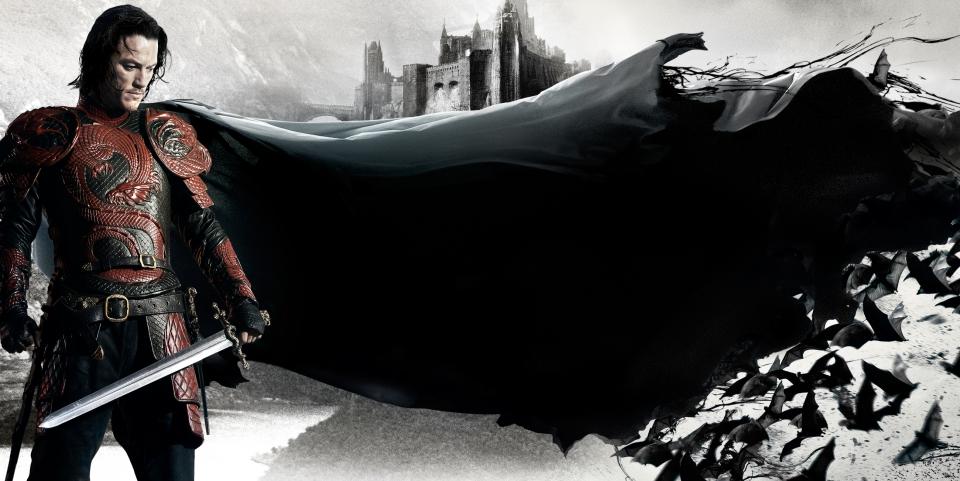 плакат фильма баннер textless Дракула