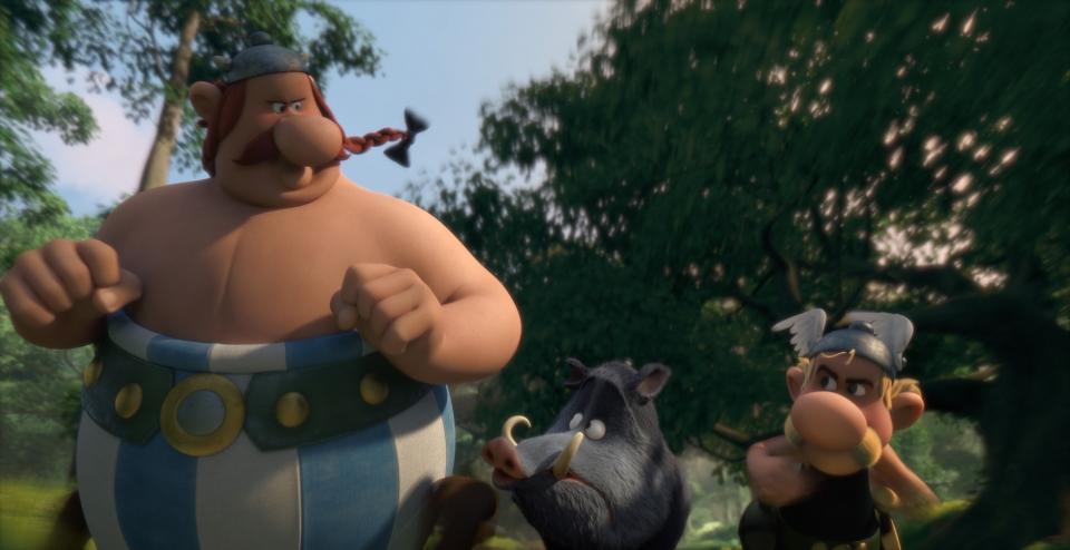 кадры из фильма Астерикс: Земля Богов