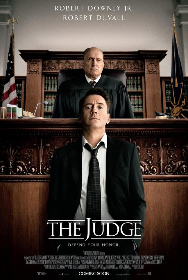 плакат фильма постер Судья