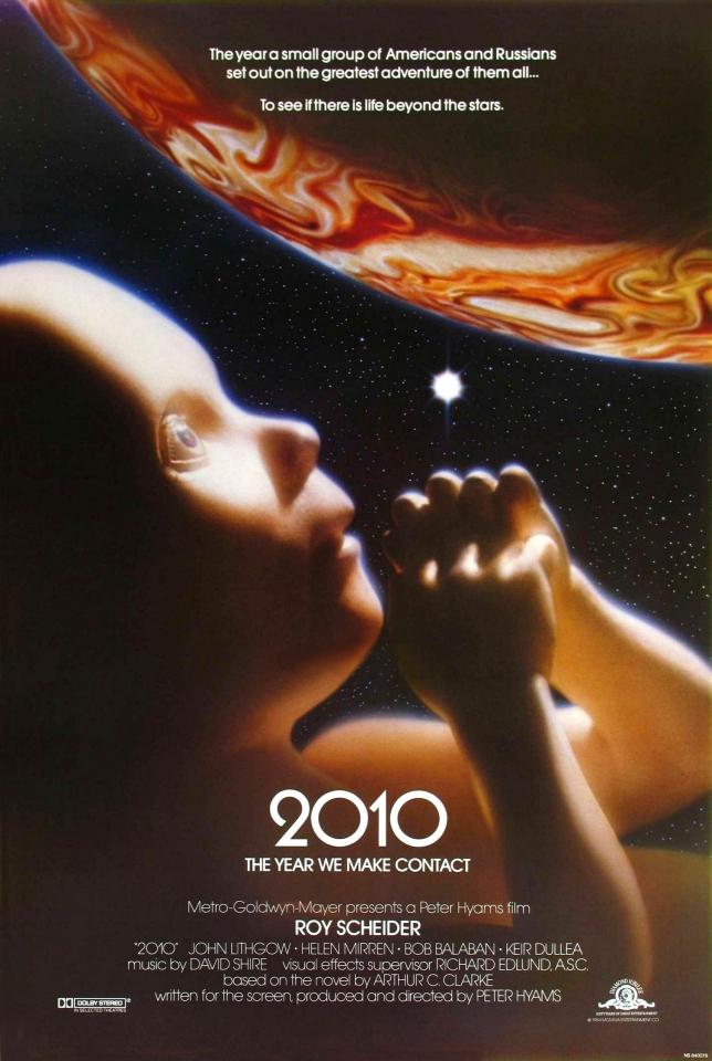 плакат фильма постер Космическая одиссея 2010