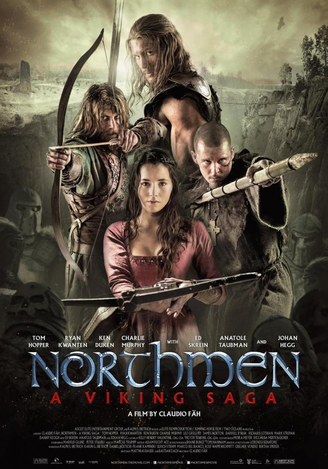 плакат фильма постер Викинги