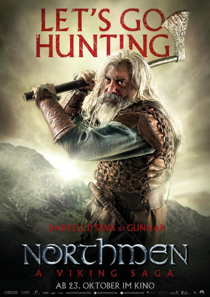 плакат фильма характер-постер Викинги
