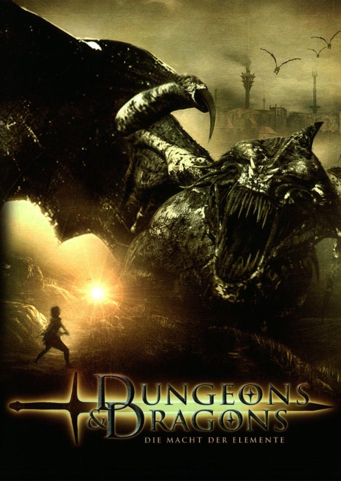 плакат фильма DVD Подземелье драконов: Источник могущества