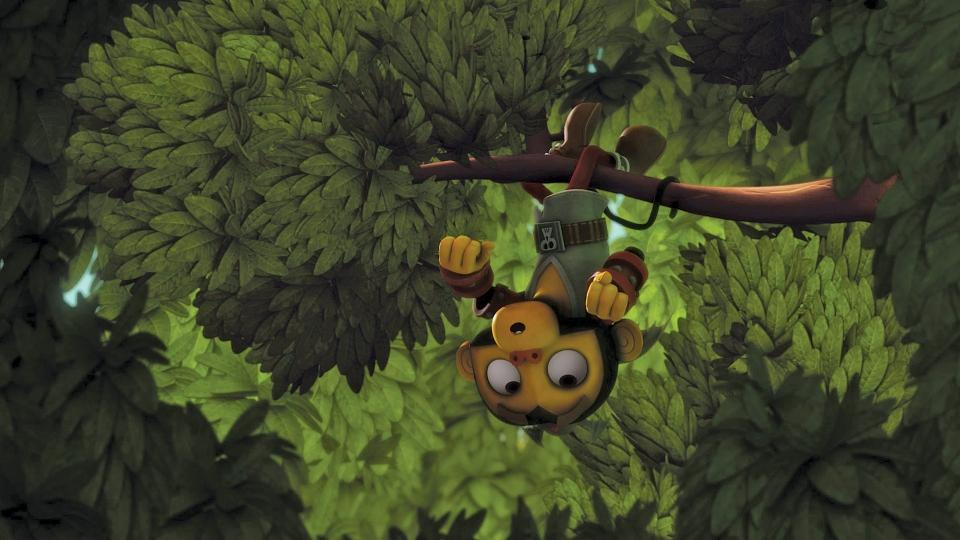 кадры из фильма Оз: Нашествие Летучих Обезьян