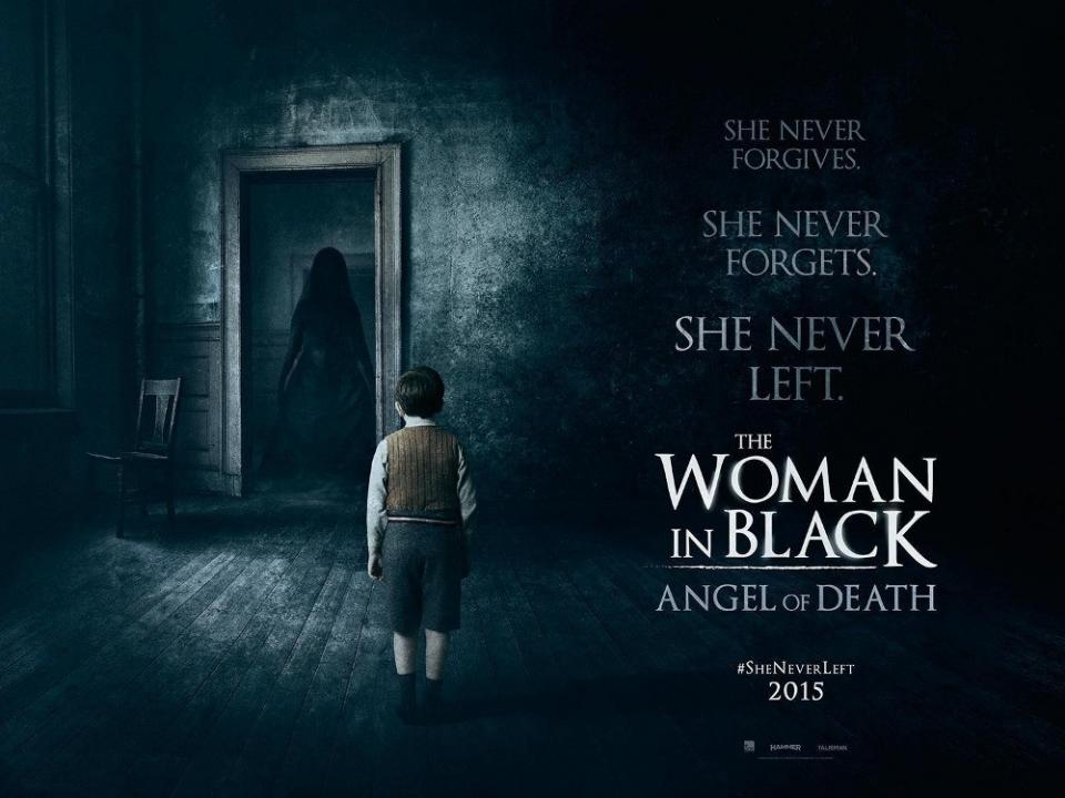 плакат фильма биллборды Женщина в черном: Ангелы смерти