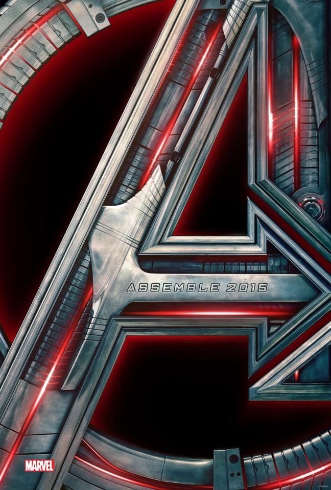 плакат фильма постер Мстители: Эра Альтрона