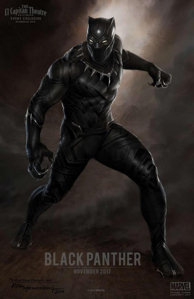 концепт-арты Черная Пантера