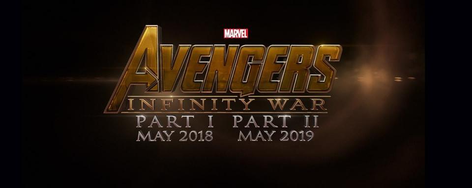 промо-слайды Мстители: Бесконечная война. Фильм II*