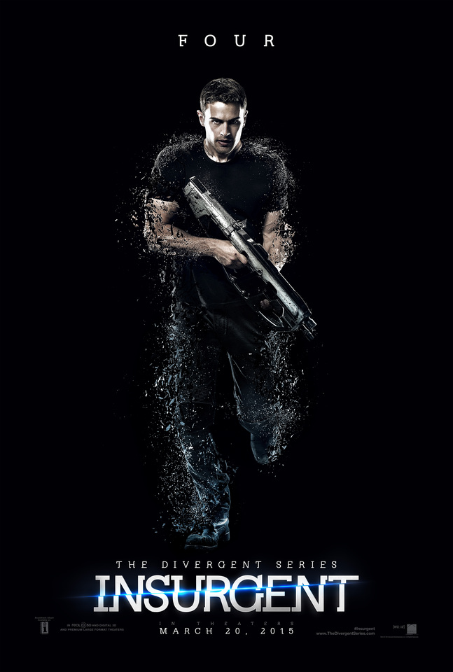 плакат фильма характер-постер Дивергент, глава 2: Инсургент
