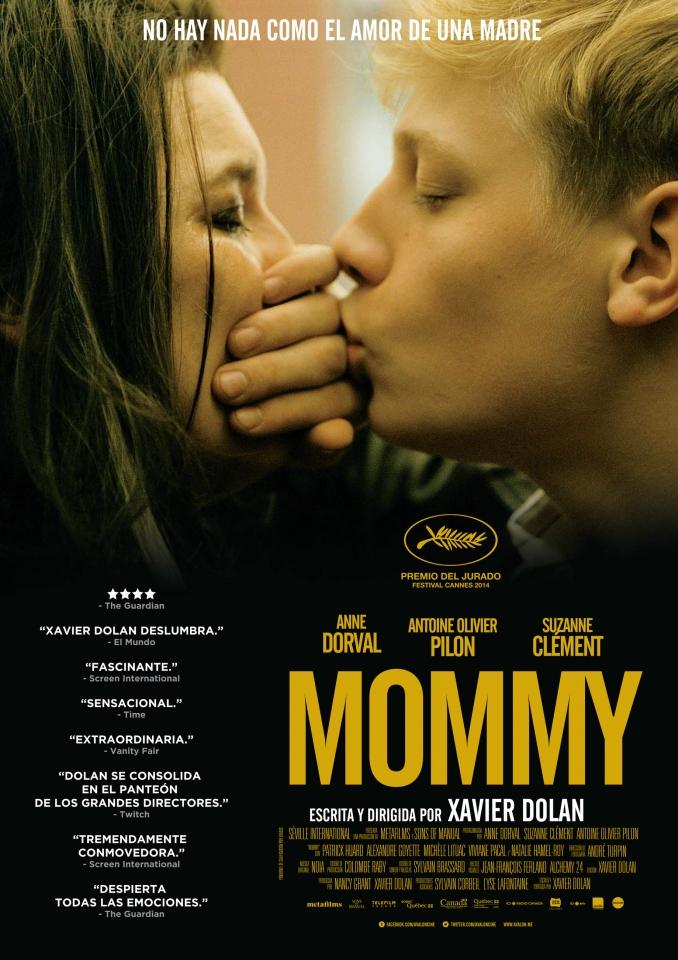 плакат фильма постер Мамочка
