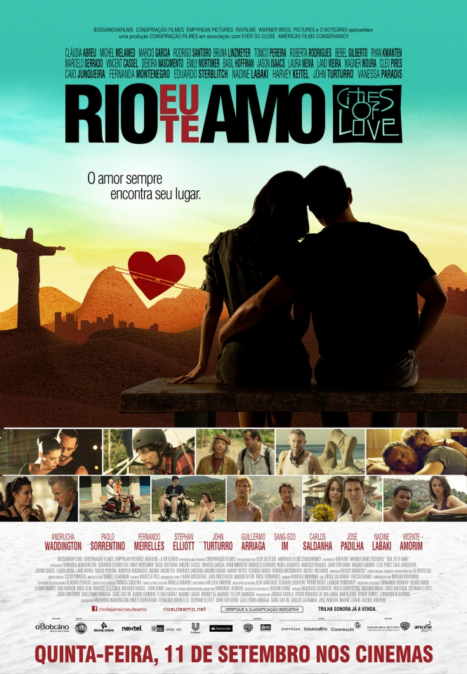 плакат фильма постер Рио, я люблю тебя