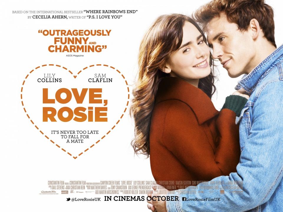 плакат фильма биллборды С любовью, Рози