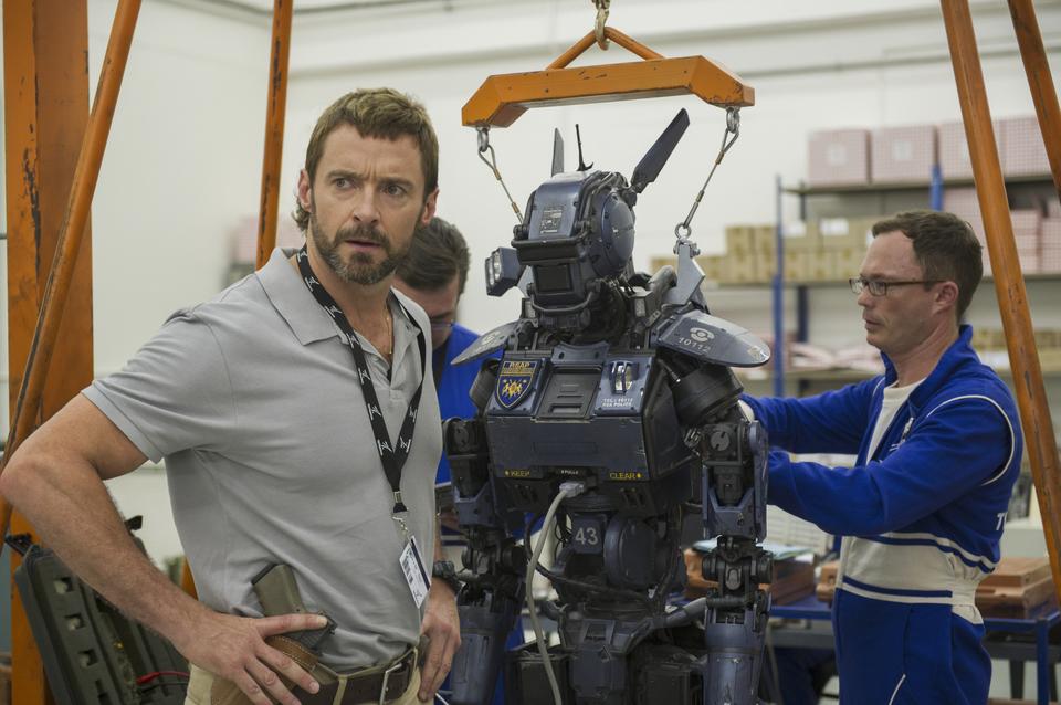 кадры из фильма Робот по имени Чаппи Хью Джекмен,