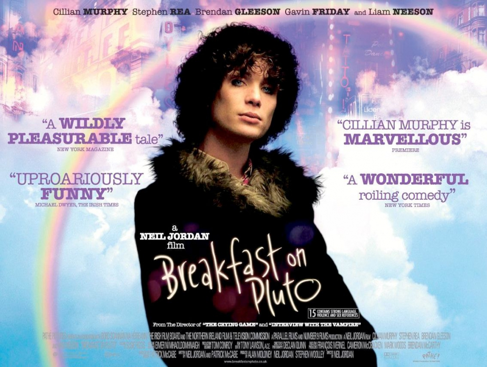 плакат фильма биллборды Завтрак на Плутоне