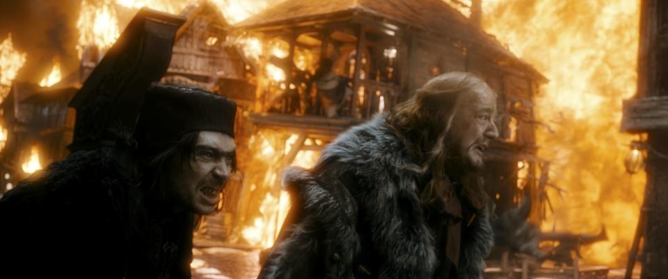кадры из фильма Хоббит: Битва пяти воинств Стивен Фрай,