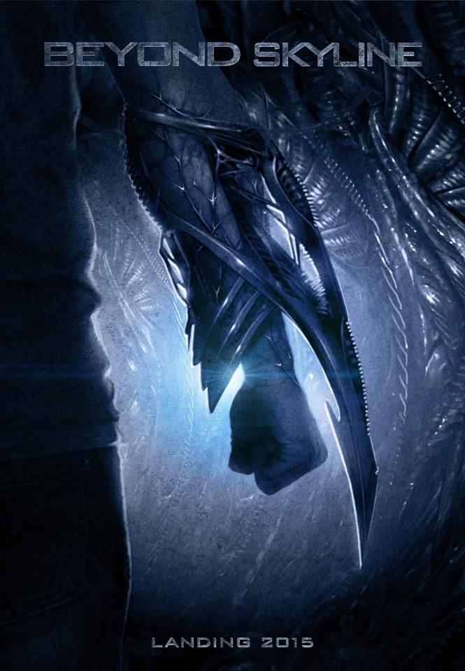 плакат фильма сейлс-арт Скайлайн 2