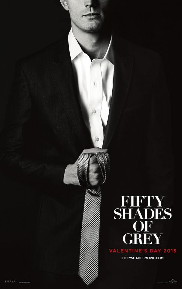 плакат фильма характер-постер Пятьдесят оттенков серого