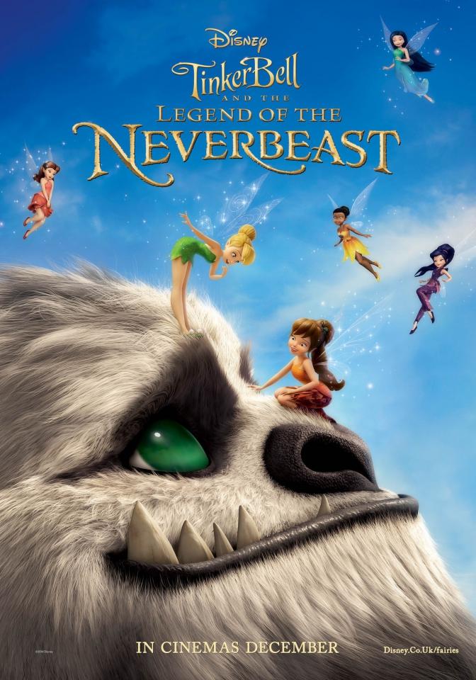 плакат фильма постер Феи: Легенда о чудовище