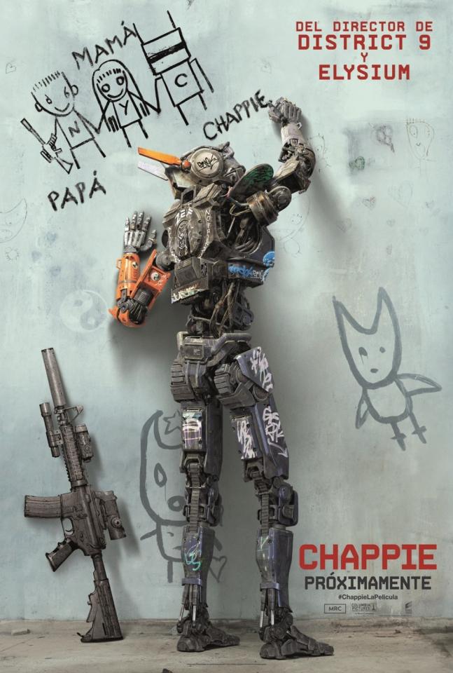плакат фильма постер Робот по имени Чаппи