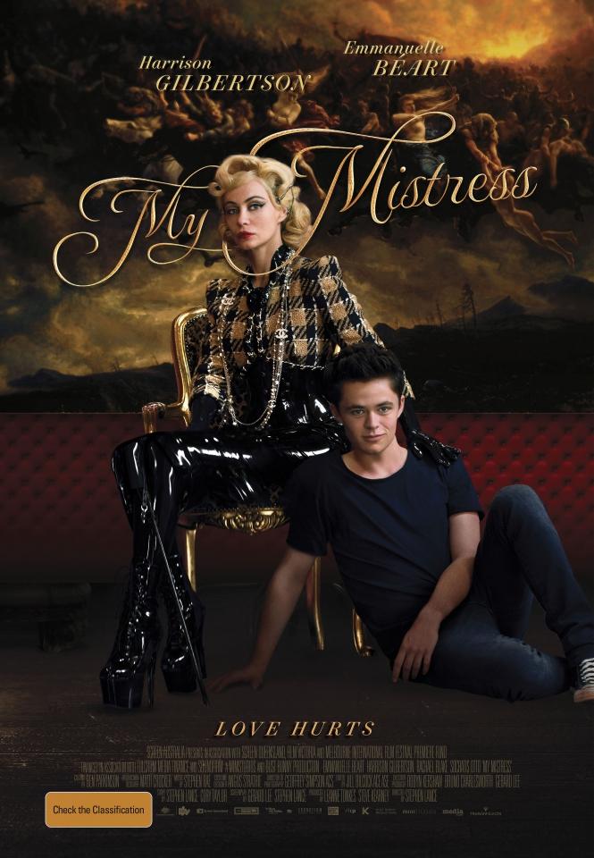 плакат фильма постер Моя госпожа