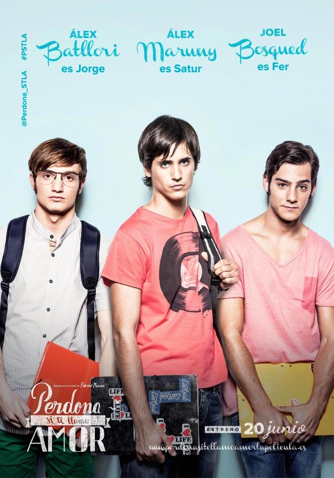 плакат фильма характер-постер Прости за любовь