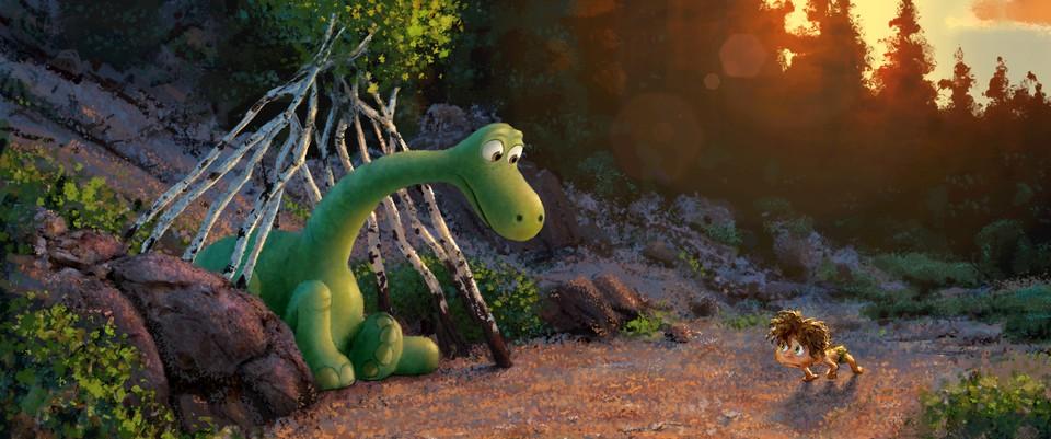 концепт-арты Хороший динозавр